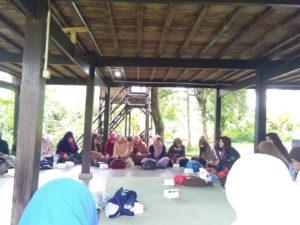 Kegiatan Family Gathering LDK Al-Intisyar UIKA Bogor